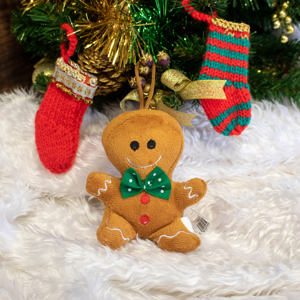 Gingerbread man toy ornament