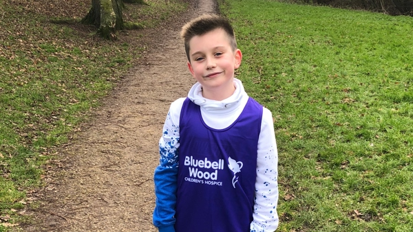 10-year-old Lennon clocks up the miles for Bluebell Wood in epic running challenge