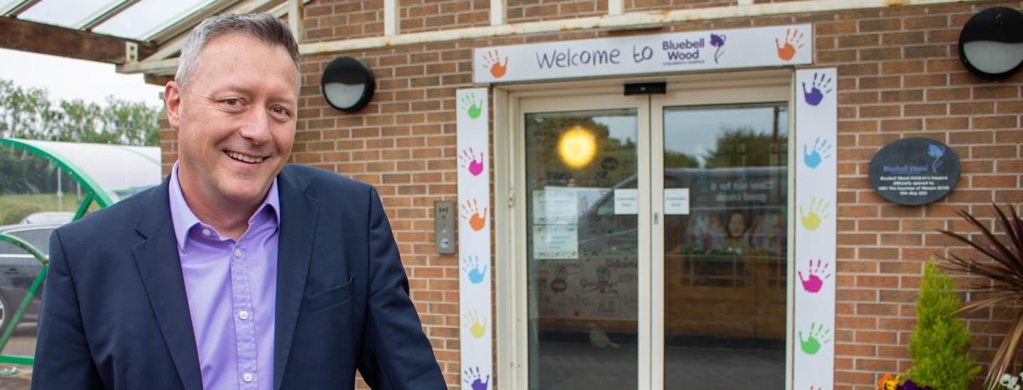 New hospice CEO pledges support to 'Give It Back' campaign during Children's Hospice Week