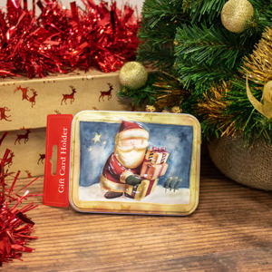 Father Christmas Gift Card Holder
