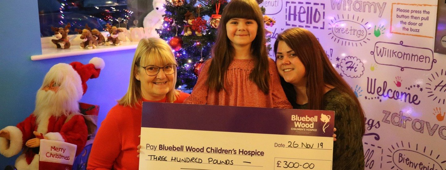 Big-hearted girl, 6, asks for donations to Bluebell Wood for her birthday