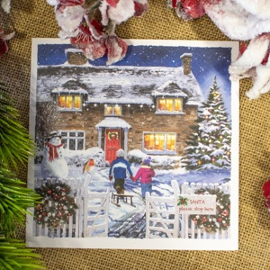 'Path to the Cottage' Christmas Card
