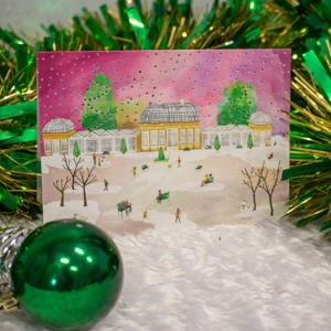 Exclusive 'Sheffield Botanical Gardens in the Snow' Christmas Card