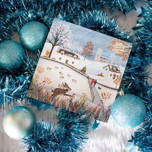 'Rustic Winter' Christmas Card