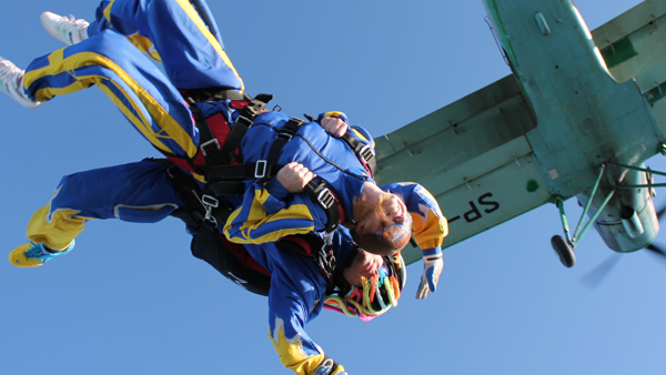 Skydive for Bluebell Wood