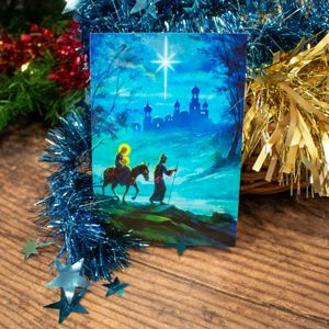 'The Journey' Christmas Card