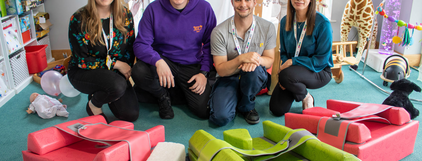Equipment donation from Jenx delivers extra 'support' to children