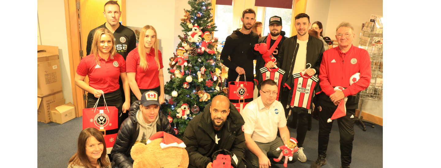 Blades bring Christmas spirit to Bluebell Wood