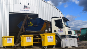 JBM Metal Recycling go the extra mile to raise over £4,000 for the Bluebell Wood