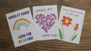 Bluebell Wood children's beautiful artwork showcased in new Kindness Cards